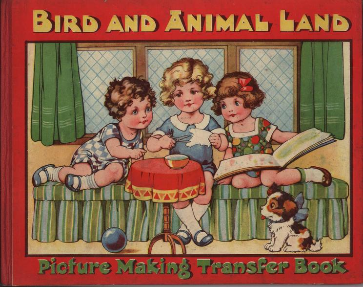 BIRD AND ANIMAL LAND PICTURE MAKING TRANSFER BOOK