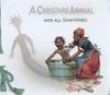 A CHRISTMAS ANNUAL in white above WITH ALL GOOD WISHES black mother bathes protesting child, printed green cord left