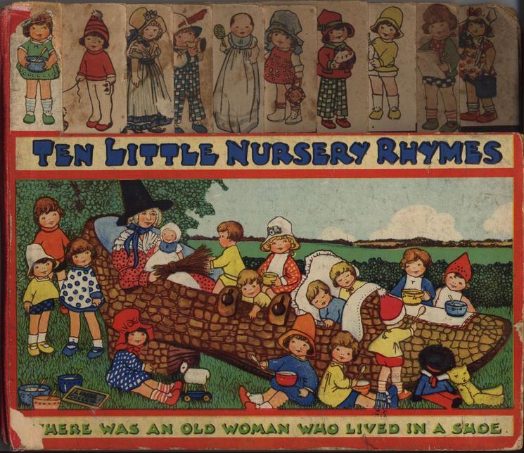 TEN LITTLE NURSERY RHYMES