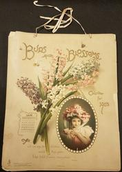 BUDS AND BLOSSOMS CALENDAR FOR 1903