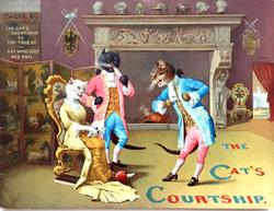 THE CAT'S COURTSHIP