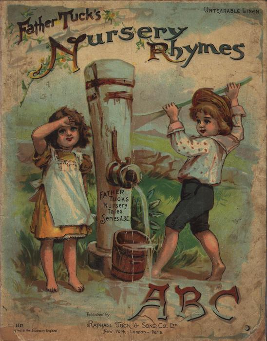 FATHER TUCK'S NURSERY RHYMES ABC