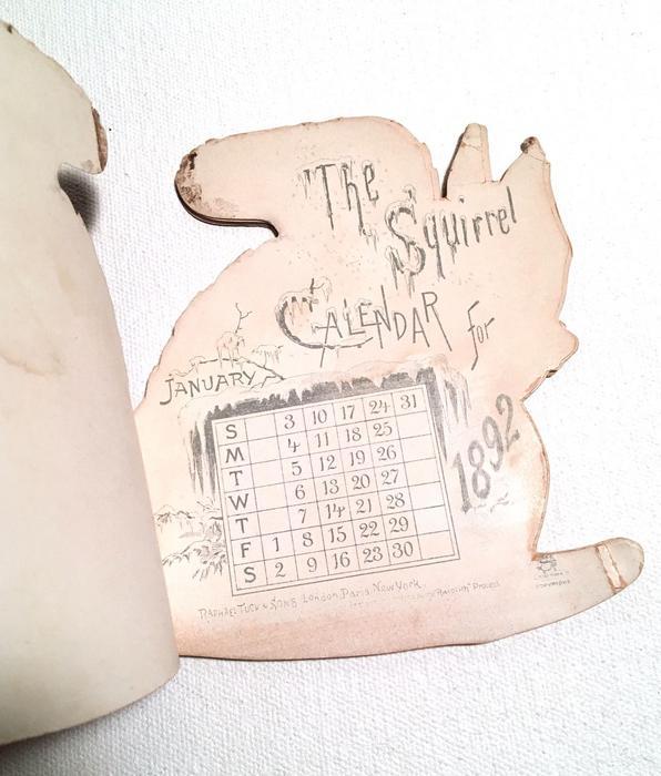 CALENDAR FOR 1892