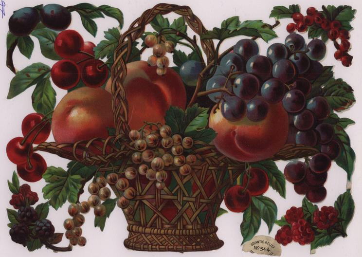 fruit in wicker basket