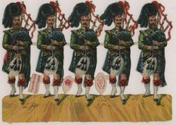 PIPERS OF THE BLACK WATCH, 42ND HIGHLANDERS