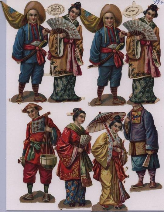 oriental figures