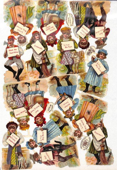 nursery rhyme characters