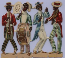 Negro musicians, sport players and character studies