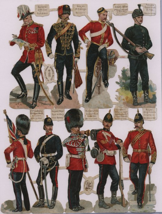 soldiers of England