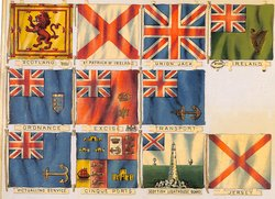 flags of Great Britain, naval and military emblems