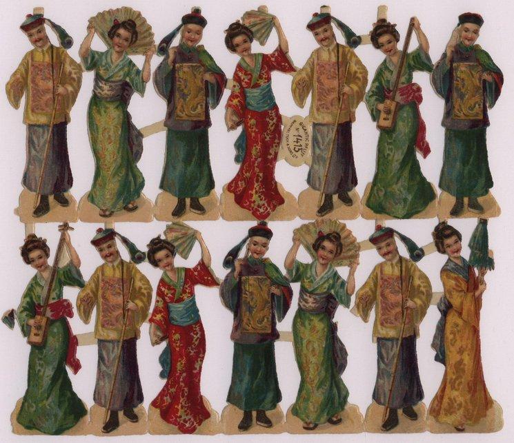 oriental people