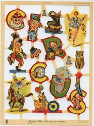 circus scenes and characters