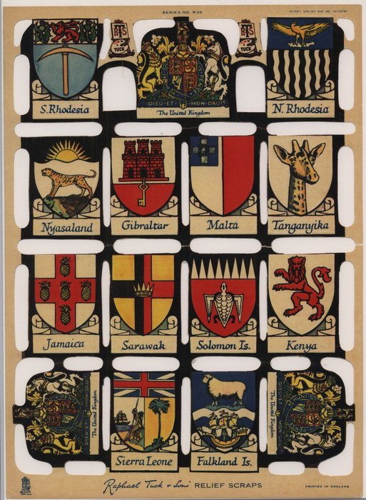 heraldic crests from commonwealth countries
