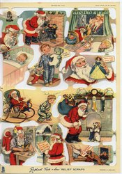 Santa Claus and related themed images