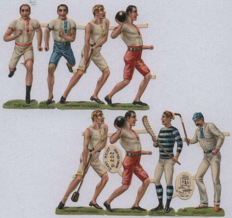 men at sports