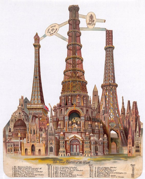 GREAT TOWERS OF THE WORLD