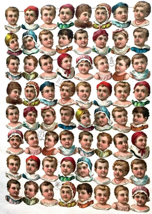 heads and shoulders of children