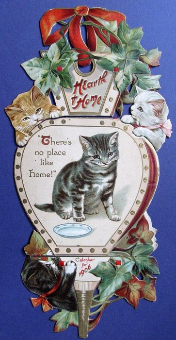 HEARTH & HOME CALENDAR FOR 1906