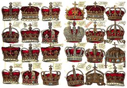 CROWNS OF ALL NATIONS