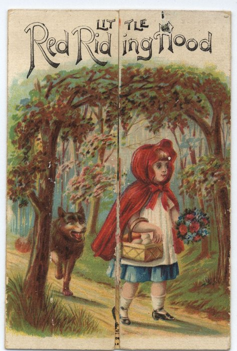 LITTLE RED RIDING HOOD or A HAPPY CHRISTMAS