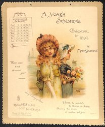 A YEAR'S SUNSHINE CALENDAR FOR 1892