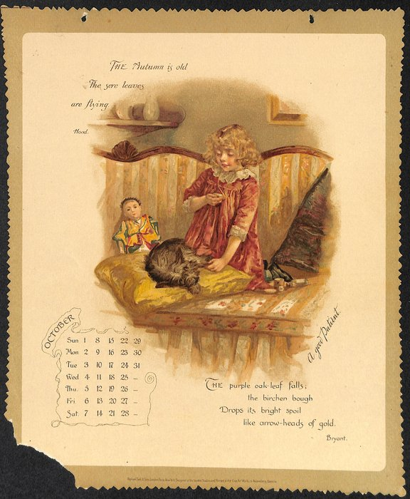 A YEAR'S SUNSHINE CALENDAR FOR 1893