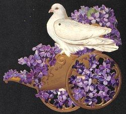 bird on cart