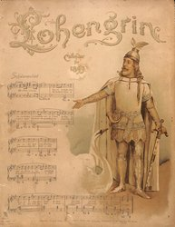 LOHENGRIN CALENDAR FOR 1899