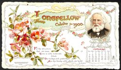 LONGFELLOW CALENDAR FOR 1900