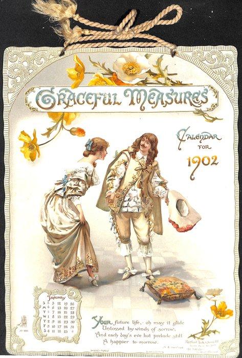GRACEFUL MEASURES lady and gentleman performing various dances