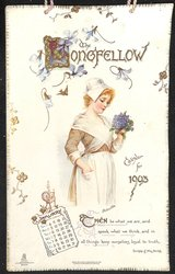 THE LONGFELLOW CALENDAR FOR 1903