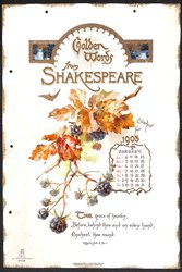 GOLDEN WORDS FROM SHAKESPEARE CALENDAR FOR 1903