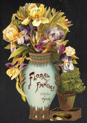 FLORAL FANCIES CALENDAR FOR 1904