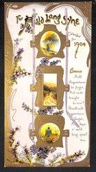 FOR AULD LANG SYNE CALENDAR FOR 1904