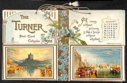 THE TURNER POST-CARD CALENDAR FOR 1905