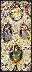 SUNNY DAYS CALENDAR FOR 1906