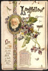 LONGFELLOW CALENDAR FOR 1906