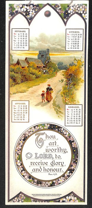REJOICE IN THE LORD CALENDAR FOR 1910