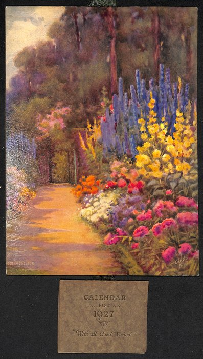 IN A GARDEN OF FLOWERS  title on reverse