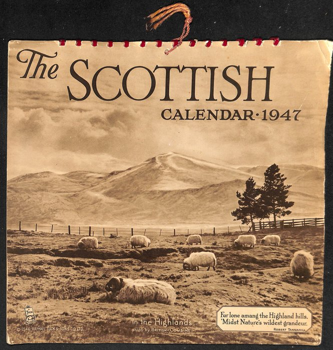 THE SCOTTISH CALENDAR 1947
