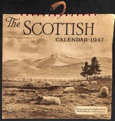 THE SCOTTISH CALENDAR 1947