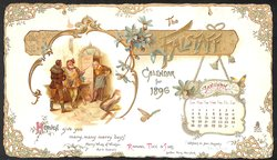 THE FALSTAFF CALENDAR FOR 1896