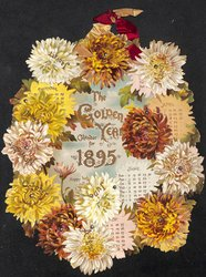 THE GOLDEN YEAR CALENDAR FOR 1895