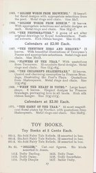 THE GLORY OF THE YEAR CALENDAR FOR 1897