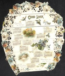 GOOD LUCK CALENDAR FOR 1897