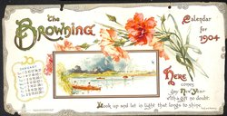 THE BROWNING CALENDAR FOR 1904