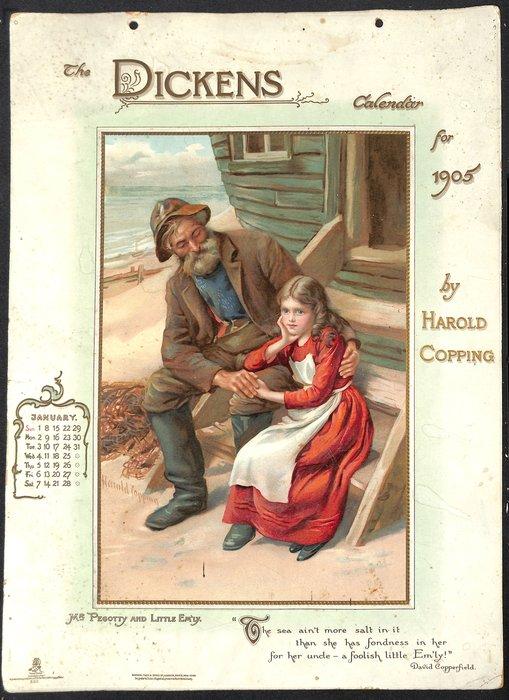 THE DICKENS CALENDAR FOR 1905
