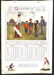 THE GOLFER'S CALENDAR FOR 1908