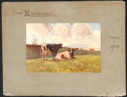 THE BROWNING CALENDAR FOR 1908