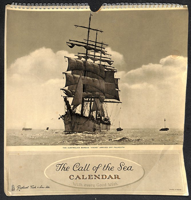 THE CALL OF THE SEA CALENDAR